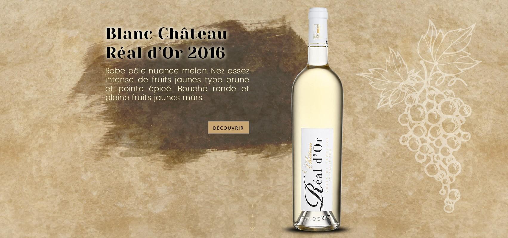 Vin Blanc Château Réal d'Or 2016